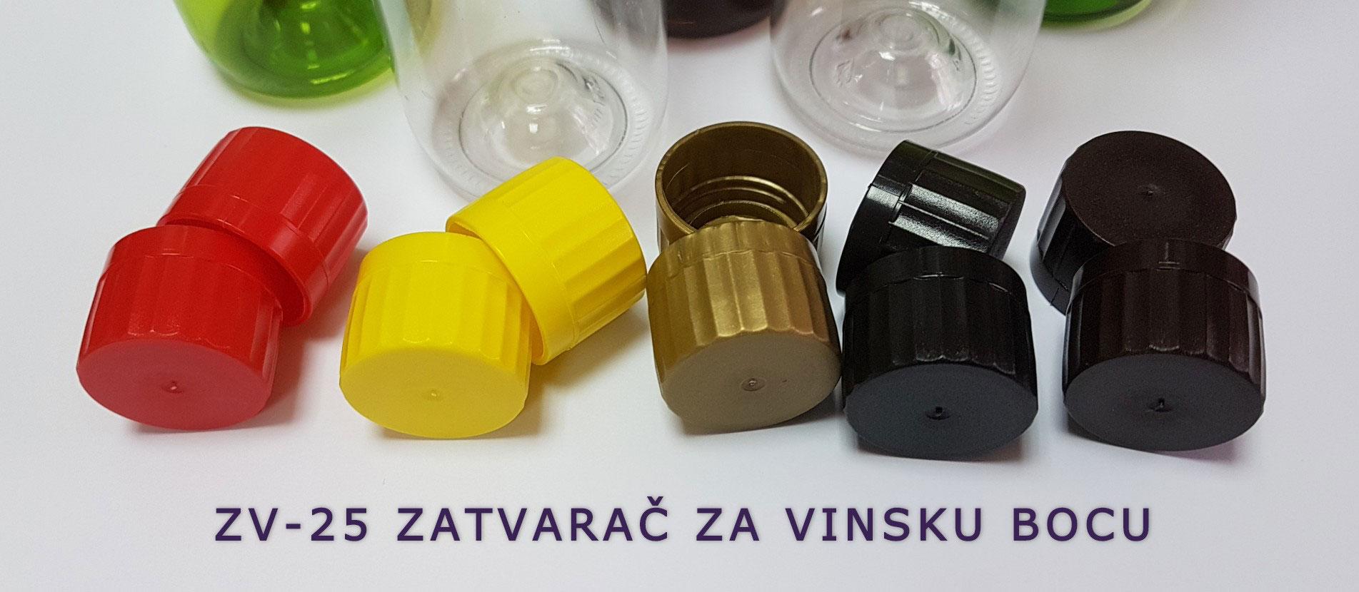 HemoTehna zatvarači za vinsku bocu 25mm